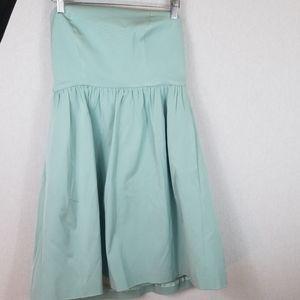 Jcrew Women strapless dress Size 6